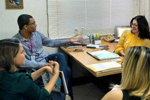 Rogéria Santos participa de audiência com ONG internacional em Salvador (BA)