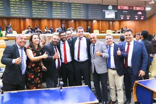 Rogério Cruz é reeleito para a segunda vice-presidência da Câmara Municipal de Goiânia