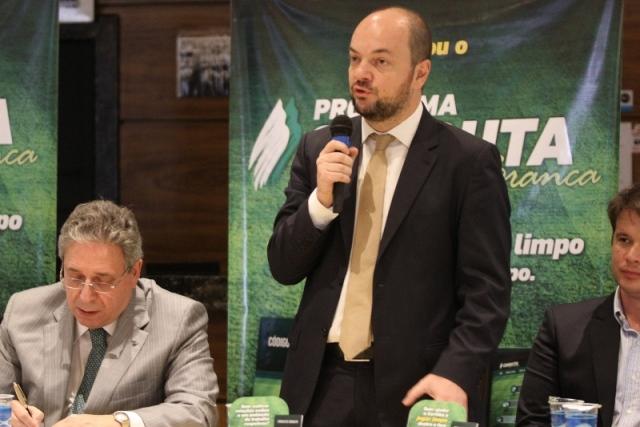 Coritiba lança modelo de gestão compliance com a presença do secretário Rogerio Hamam