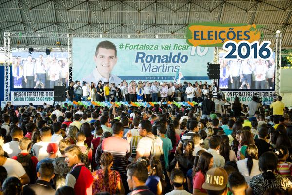 PRB oficializa Ronaldo Martins como candidato à Prefeitura de Fortaleza