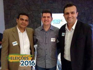 O presidente do PRB no Ceará, Ronaldo Martins, empossou Daniel Rodrigues e Erivan Félix, para a presidência e vice-presidência, respectivamente.