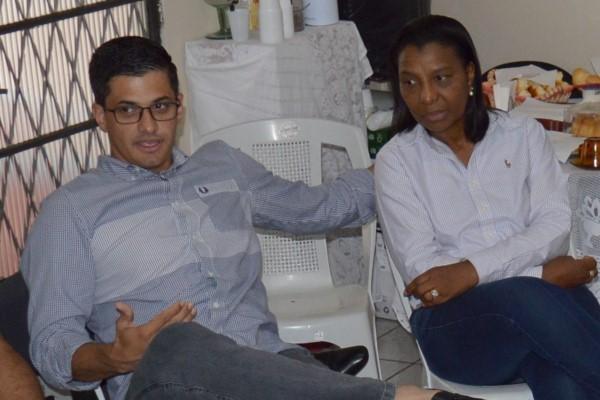 Rosangela Gomes e Danniel Librelon planejam ações para os próximos quatro anos