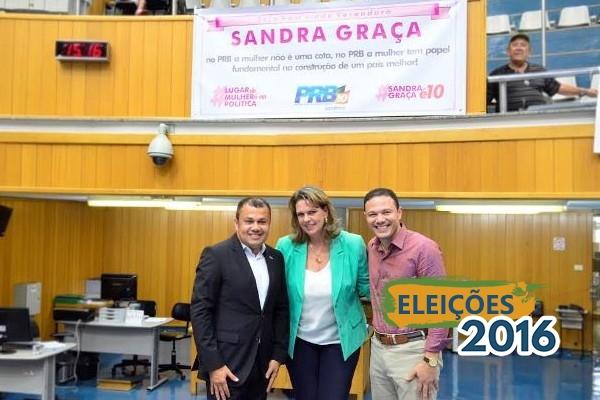 PRB filia Sandra Graça e deve lançar candidatura própria para a prefeitura de Londrina (PR)