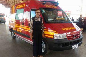 Sarita participa da entrega de viaturas com governador em Paranaíba (MS)