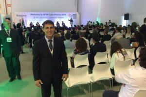Sebastião Santos participa da abertura do WTM Latin America 2016