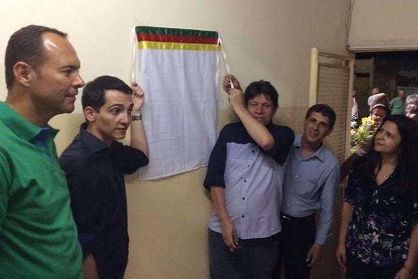 Sebastião Santos prestigia reinauguração de Centro Educacional em Barretos