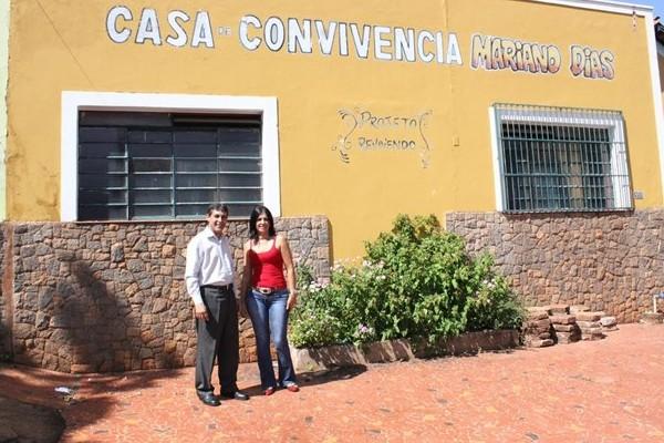 Sebastião Santos visita casa de convivência Mariano Dias em Barretos (SP)