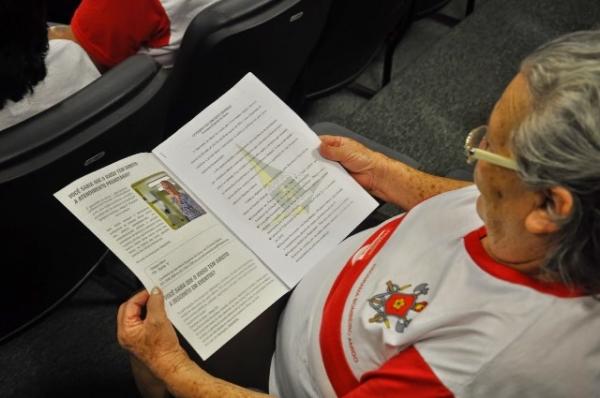Secretaria lança cartilha com direitos legais dos idosos