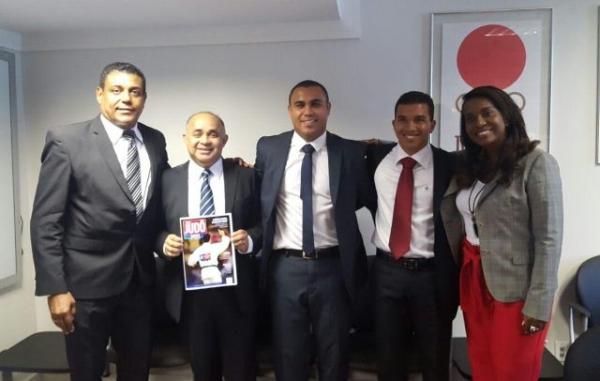 Secretário Toinho do Judô busca apoio para fomentar o esporte em Irecê