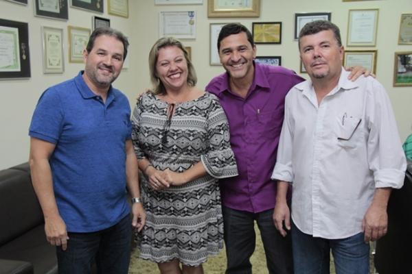 Senador Eduardo Lopes e Marcílio Nunes discutem melhorias para município de Bom Jardim