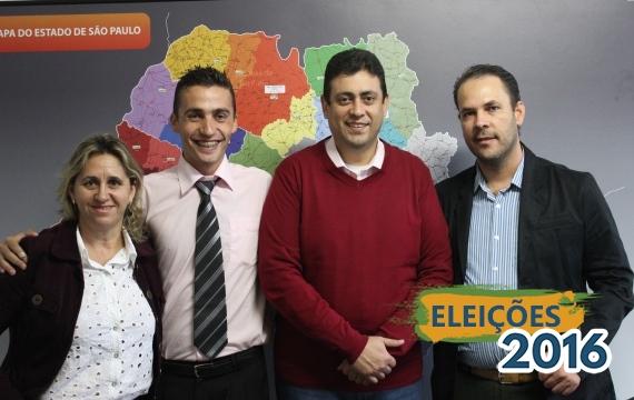 Sérgio Fontellas recebe pré-candidatos de Itaporanga