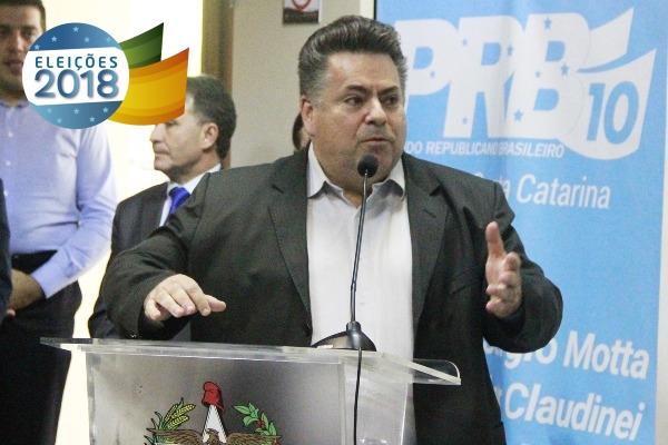 PRB Santa Catarina confirma apoio a Gelson Merisio para o governo do estado