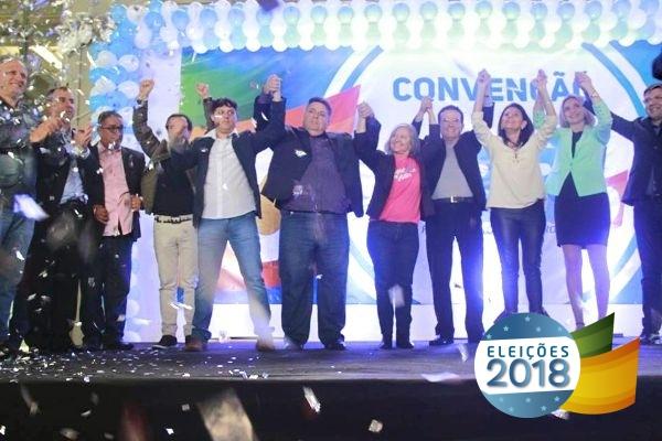 PRB SC realiza convenção e homologa candidaturas para as eleições de 2018