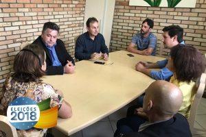 Sergio Motta visita município e se reúne com lideranças políticas de Santa Catarina