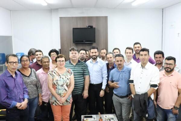Sergio Motta visita municípios da região Oeste de Santa Catarina