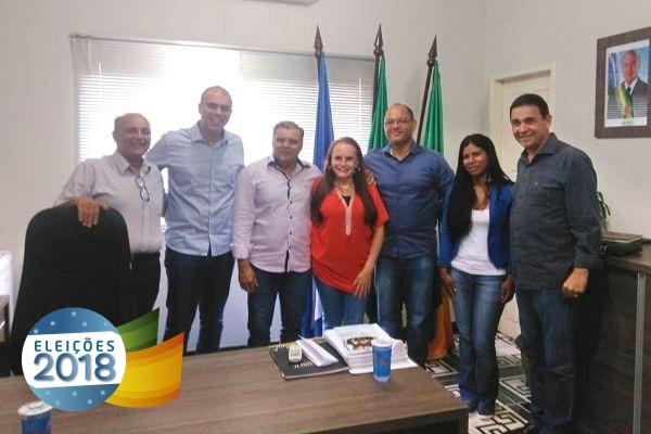 Comitiva do PRB MT visita municípios para fortalecer partido para as eleições de 2018