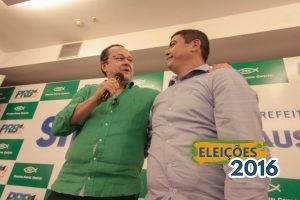 Pré-candidato a prefeito de Manaus, Silas Câmara anuncia Coronel Amadeu como vice