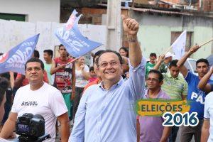 Silas realiza caminhada e apresenta propostas no bairro Ouro Verde
