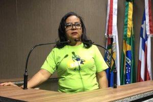 Silma Alves defende vagas de trabalho para pessoas com deficiência em Barreiras