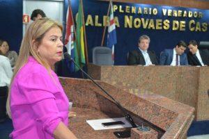Silvania Barbosa destaca o retorno dos trabalhos legislativos na Câmara de Maceió