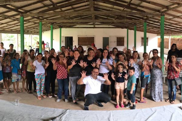 Coordenadora do PRB Mulher Pará visita município de Marapanim (PA)