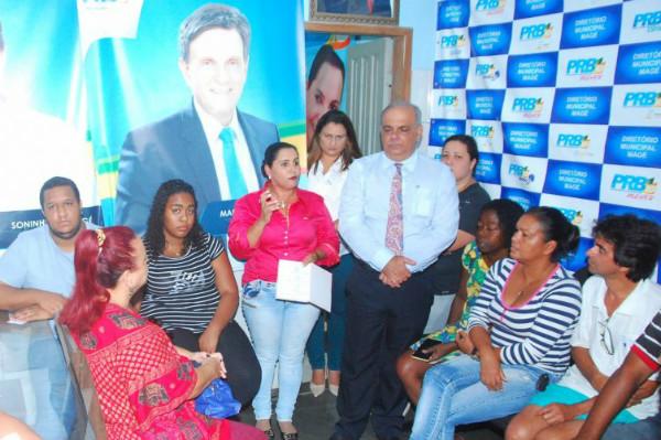 Soninha de Magé investe nos movimentos setoriais do município