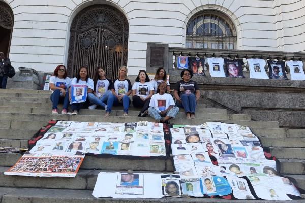 Tânia Bastos apoia movimento de mães de pessoas desaparecidas