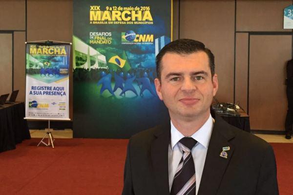 Tanrac Saldanha participa da XIX Marcha a Brasília em Defesa dos Municípios