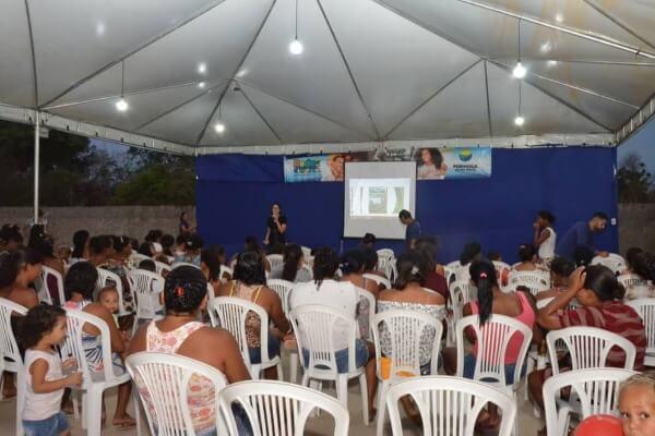 Projeto Rede da Cidadania leva ação de saúde e bem-estar para Morada Nova