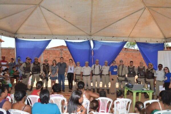 Bairro Progresso recebe ações do Projeto Rede da Cidadania em Formosa
