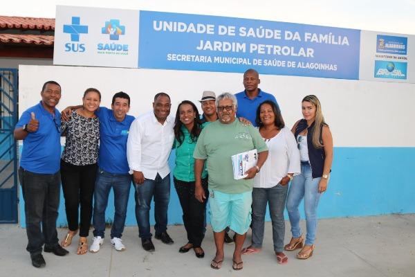 Empenho de Tia Eron garante reforma de unidade de saúde em Alagoinhas (BA)