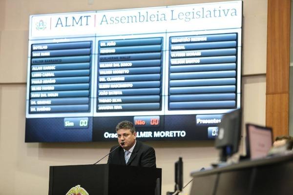 Moretto articula obra para a pista do Aeroporto Municipal de Pontes e Lacerda