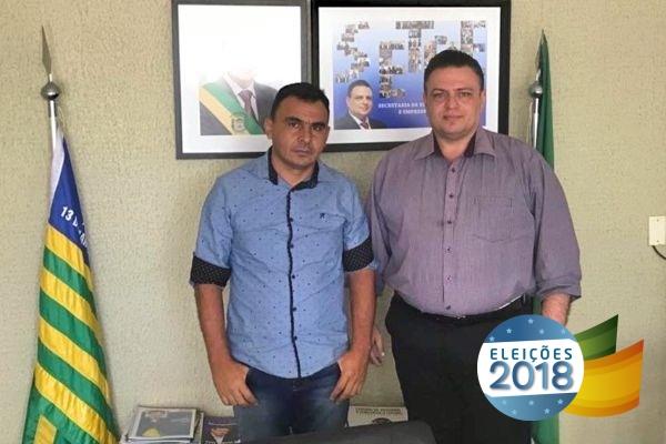 Valmir comemora votação expressiva para o deputado Gessivaldo em Bonfim do Piauí