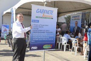 Vanderly Mello leva gabinete itinerante ao centro de Campo dos Goytacazes