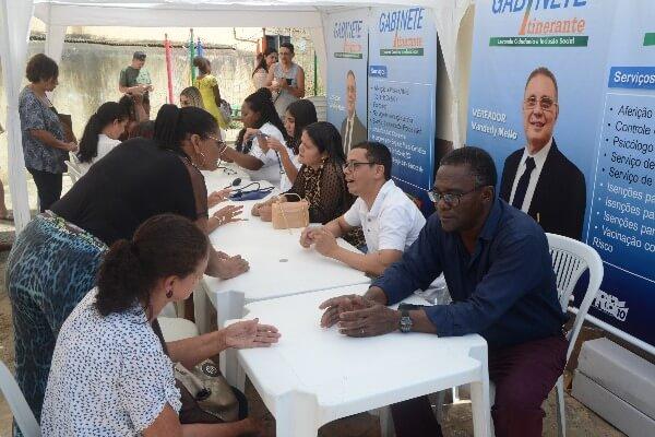 Vanderly Mello promove ação social em Campos dos Goytacazes