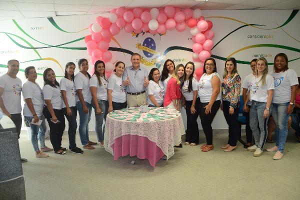 Vanderly Mello participa de ação pelo Outubro Rosa Campos dos Goytacazes