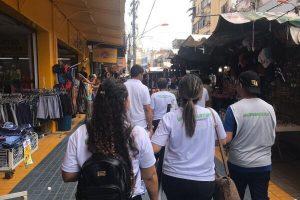 Projeto Quem Ama Cuida leva conscientização a bairro comercial de Belém