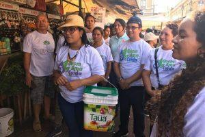 Quem Ama Cuida leva aula de compostagem a cartão postal de Belém