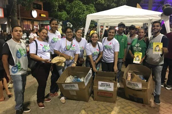 """Projeto """"Quem Ama Cuida"""" realiza ações de conscientização em Belém"""