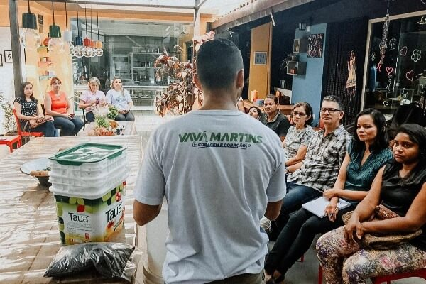 Quem Ama Cuida realiza palestra e oficinas em Belém