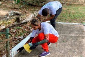 Projeto Quem Ama Cuida revitaliza praça em Belém