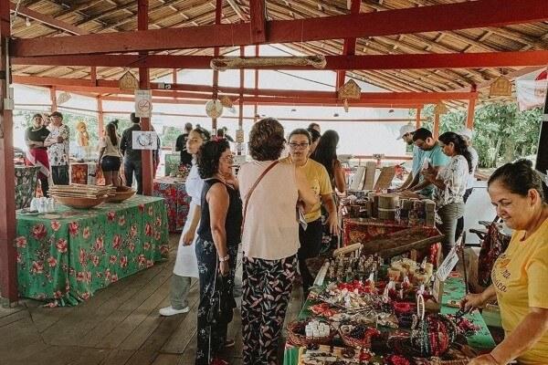 Quem Ama Cuida leva consciência ambiental a evento gastronômico em Belém