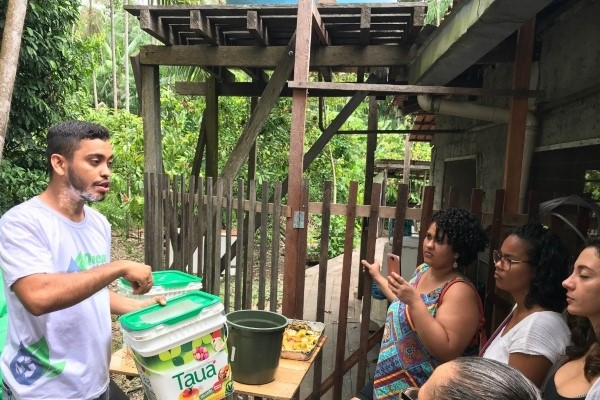 Projeto Quem Ama Cuida leva conhecimento a Região das Ilhas em Belém