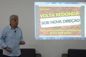 Baltazar lança plano de governo participativo para Volta Redonda (RJ)