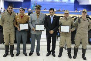 Vereador Betinho presta homenagem ao Corpo de Bombeiros de Campo Grande (MS)