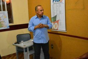 Vereador Dejá realiza reunião com executiva municipal