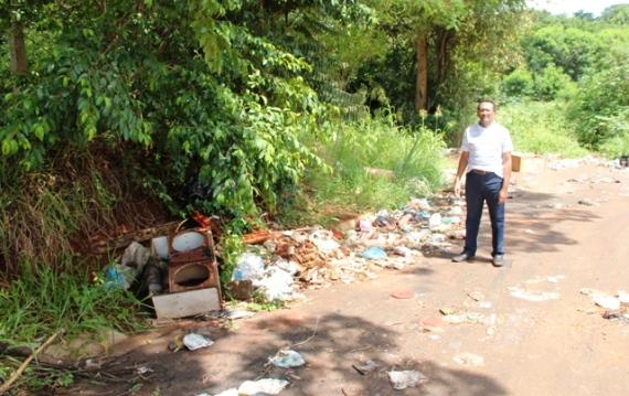 Vereador Raimundo Bezerra quer recuperação de área degradada em Araraquara