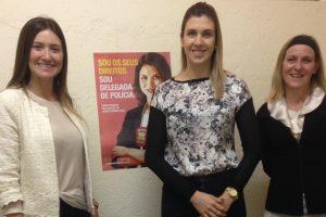 Greyce Elias realiza ato em defesa das mulheres em Patrocínio (MG)