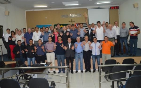 Em reunião com executivas de SP, Vinicius Carvalho anuncia inauguração de escritório em Bauru