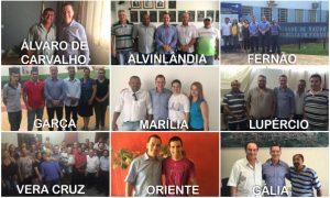 Vinicius Carvalho realiza quarta visita na região de Marília